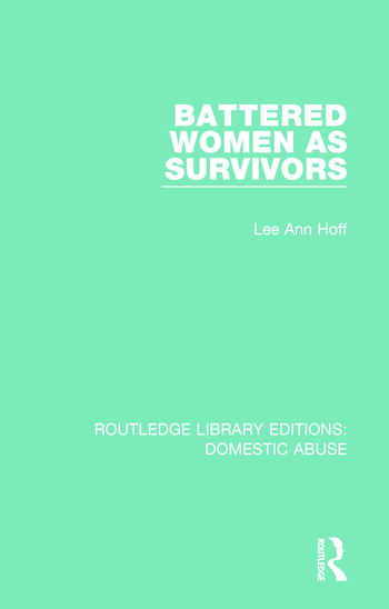 Battered Women as Survivors book cover