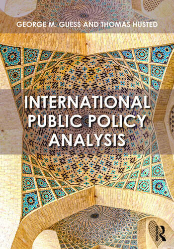 International Public Policy Analysis book cover