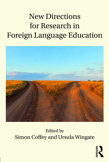 New Directions for Research in Foreign Language Education book cover