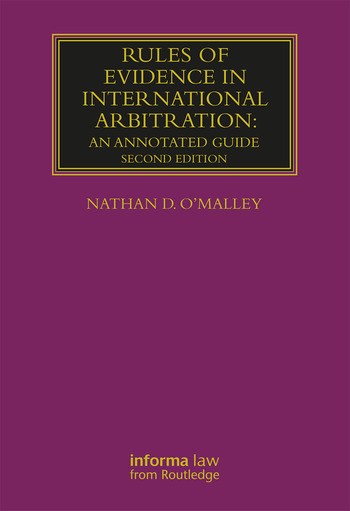 Rules of Evidence in International Arbitration An Annotated Guide book cover