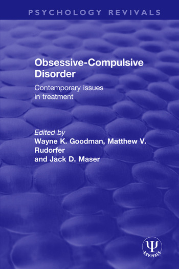Obsessive-Compulsive Disorder Contemporary Issues in Treatment book cover