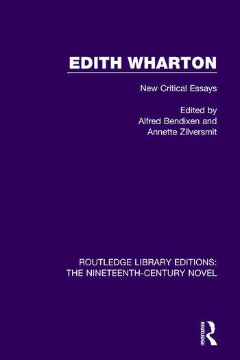 Edith Wharton New Critical Essays book cover