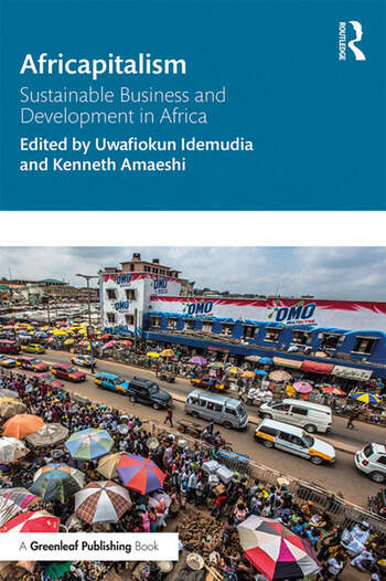 Africapitalism Sustainable Business and Development in Africa book cover