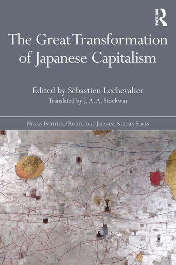 The Great Transformation of Japanese Capitalism book cover