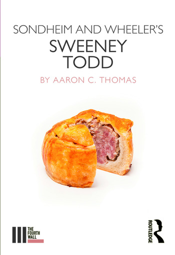 Sondheim and Wheeler's Sweeney Todd book cover