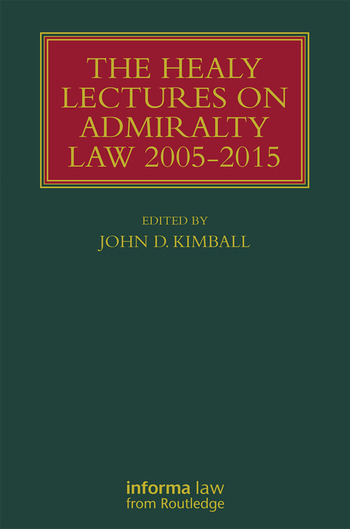 The Healy Lectures 2005-2015 book cover