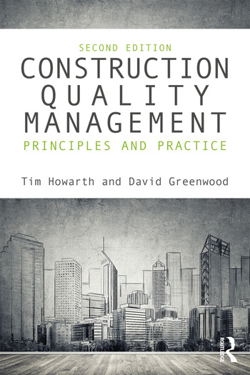 Construction Quality Management Principles and Practice book cover