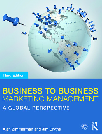 Business to Business Marketing Management A Global Perspective book cover