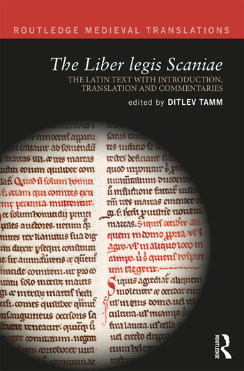 The Liber legis Scaniae The Latin Text with Introduction, Translation and Commentaries book cover