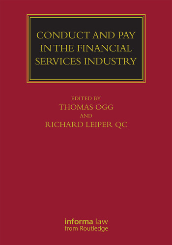 Conduct and Pay in the Financial Services Industry The regulation of individuals book cover