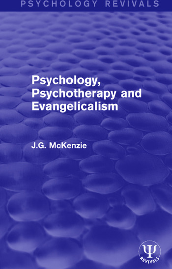 Psychology, Psychotherapy and Evangelicalism book cover