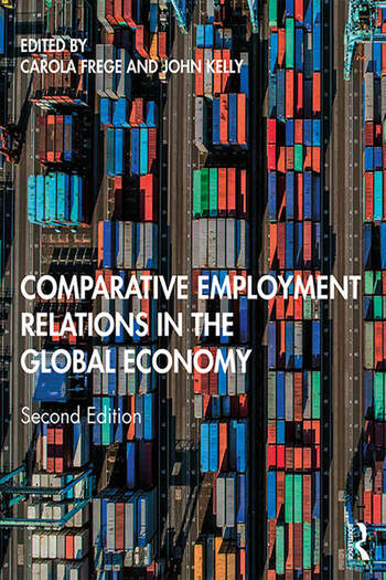 Comparative Employment Relations in the Global Economy book cover