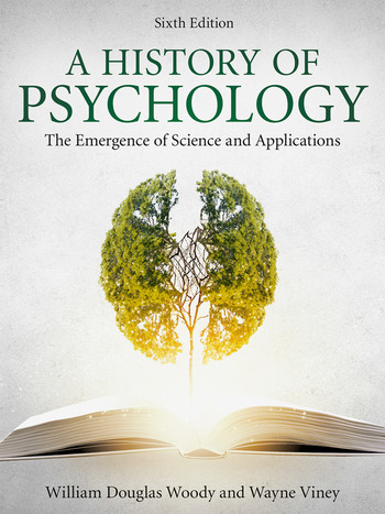 A History of Psychology The Emergence of Science and Applications book cover