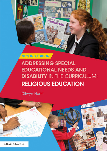 Addressing Special Educational Needs and Disability in the Curriculum: Religious Education book cover