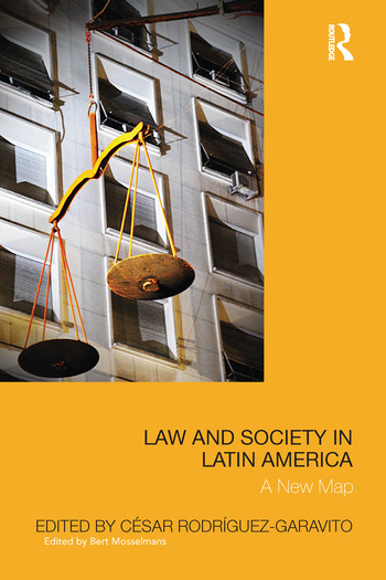 Law and Society in Latin America A New Map book cover