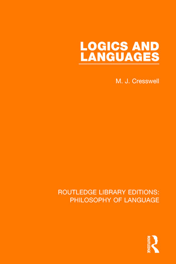Logics and Languages book cover