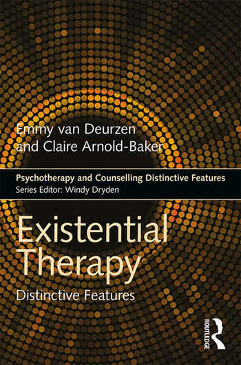 Existential Therapy Distinctive Features book cover