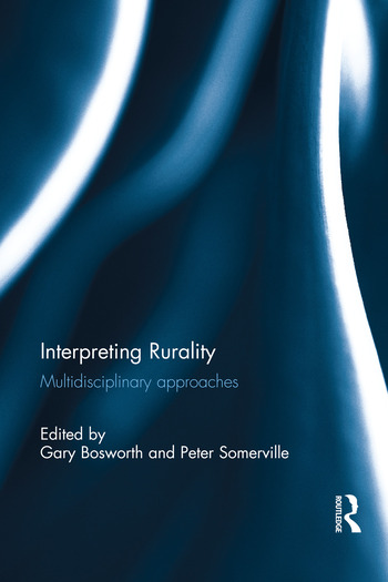 Interpreting Rurality Multidisciplinary Approaches book cover