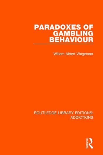 Paradoxes of Gambling Behaviour book cover