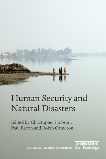 Human Security and Natural Disasters book cover