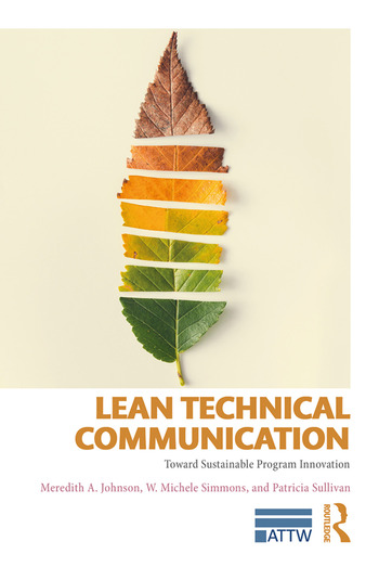 Lean Technical Communication Toward Sustainable Program Innovation book cover