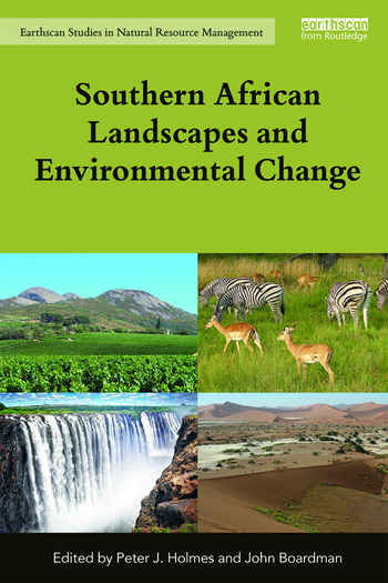 Southern African Landscapes and Environmental Change book cover