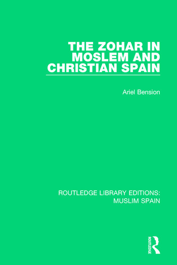 The Zohar in Moslem and Christian Spain book cover