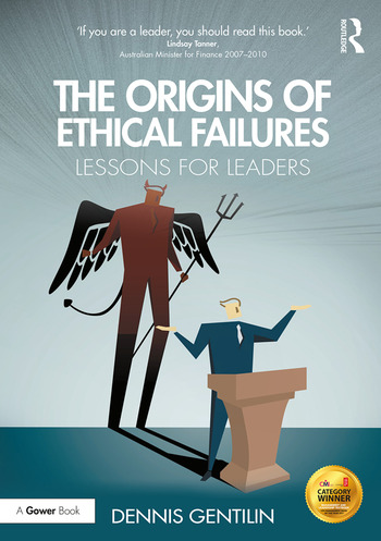 The Origins of Ethical Failures Lessons for Leaders book cover