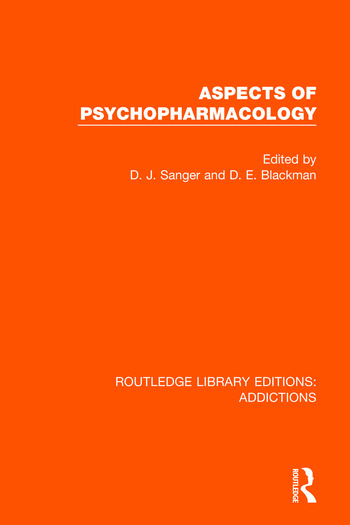 Aspects of Psychopharmacology book cover