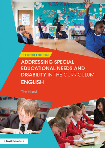 Addressing Special Educational Needs and Disability in the Curriculum: English book cover