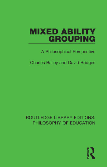 Mixed Ability Grouping A Philosophical Perspective book cover