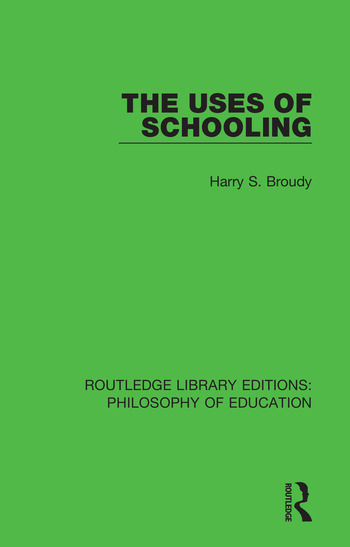 The Uses of Schooling book cover