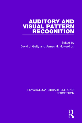 Auditory and Visual Pattern Recognition book cover