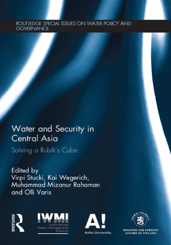 Water and Security in Central Asia Solving a Rubik's Cube book cover
