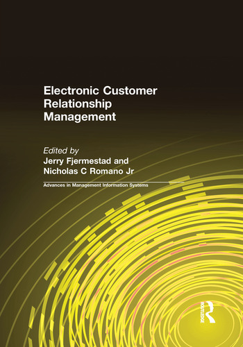 Electronic Customer Relationship Management book cover