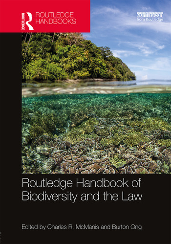 Routledge Handbook of Biodiversity and the Law book cover