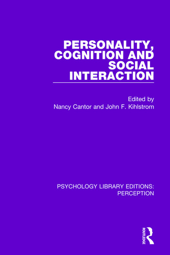 Personality, Cognition and Social Interaction book cover
