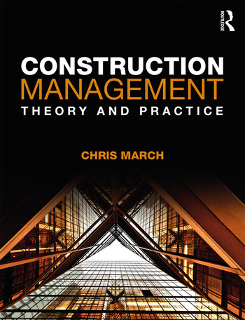 Construction Management Theory and Practice book cover