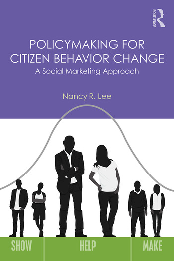 Policymaking for Citizen Behavior Change A Social Marketing Approach book cover