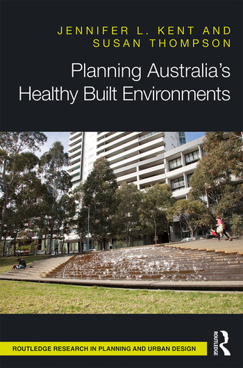 Planning Australia's Healthy Built Environments book cover