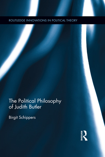 The Political Philosophy of Judith Butler book cover