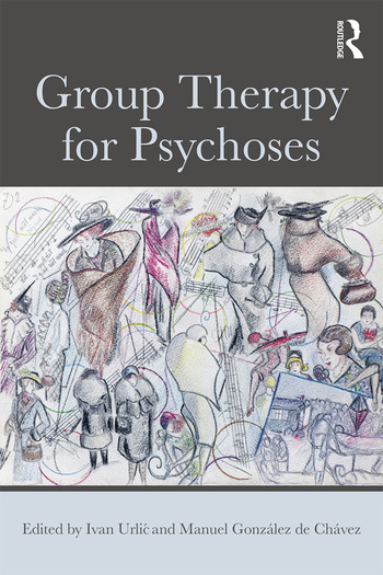 Group Therapy for Psychoses book cover