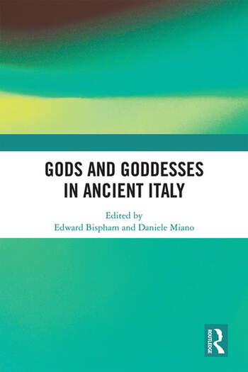 Gods and Goddesses in Ancient Italy book cover