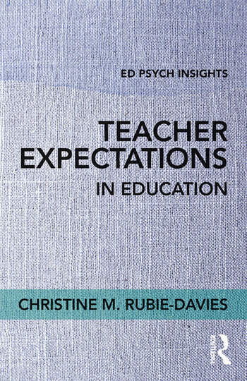 Teacher Expectations in Education book cover