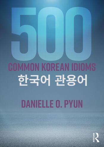 500 Common Korean Idioms book cover