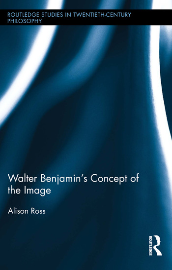 Walter Benjamin's Concept of the Image book cover
