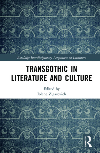 TransGothic in Literature and Culture book cover