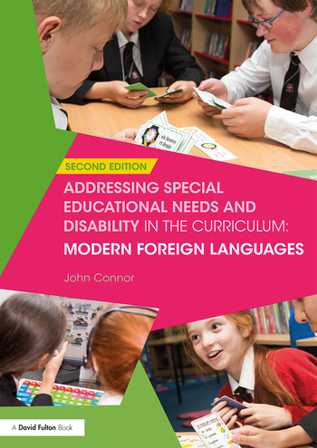 Addressing Special Educational Needs and Disability in the Curriculum: Modern Foreign Languages book cover