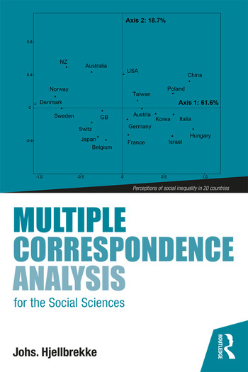Multiple Correspondence Analysis for the Social Sciences book cover