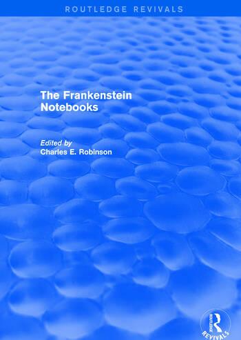 The Frankenstein Notebooks book cover
